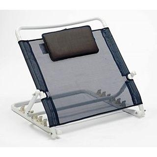 Verstelbare rugsteun voor bed, met kussentje