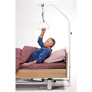 Optrekbeugel-zelfoprichter op voet Economy: hoogte 190 CM, basis 74 x 72 CM, max. belasting 100 kg