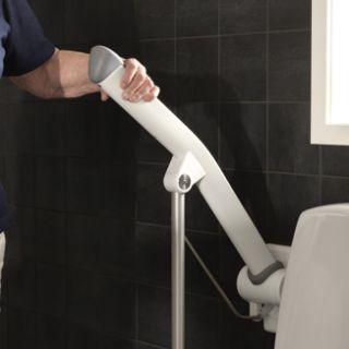 Etac Rex toiletarmsteun met steunpoot