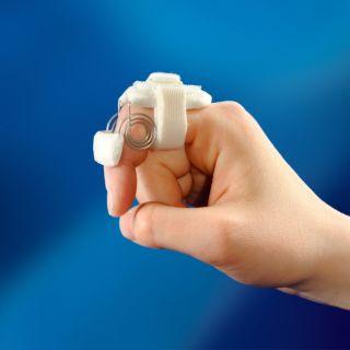 Spring Coil Finger Flexion