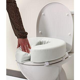 Toiletkussen voor gewoon toilet of toiletstoel