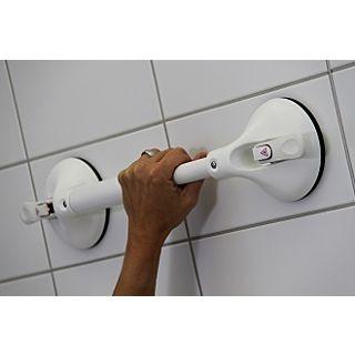 Wandbeugel op zuignap Mobeli® met vaste lengte en veiligheidsindicator